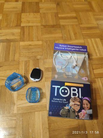 Nowy zegarek Smarwatch TOBI , niebieski.