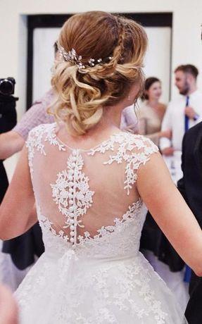 suknia ślubna ivory Sposabella Aspazja r. 36/38 + GRATISY!