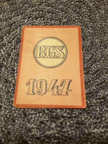 Stary kalendarzyk 1947 BGS