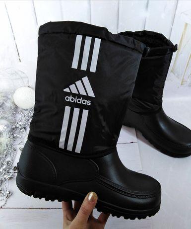 Рабочая мужская обувь, сапоги дутики пенки непромокающие