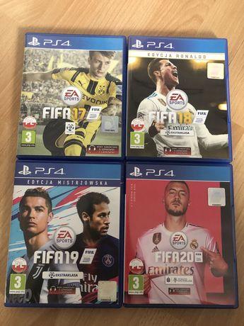 FIFA 17, 18, 19, FIFA 20, używane