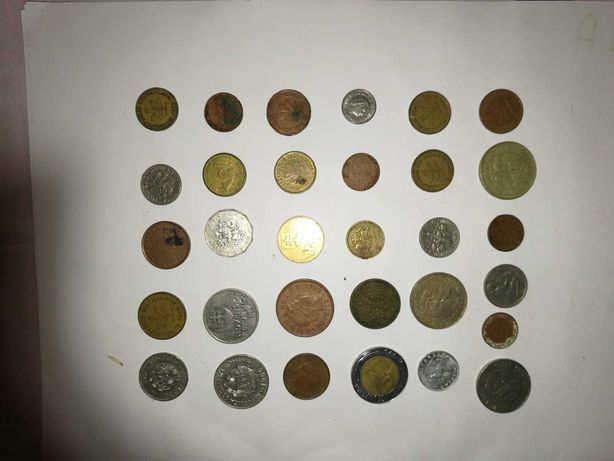 Monety różne go rodzaju