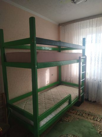 Ліжко 2-х ярусне+2 матраци