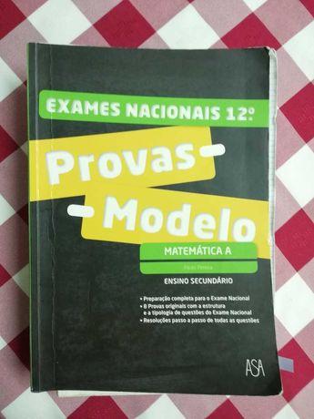 Livro escolares: máximo 10, preparação para o exame de matemática e FQ