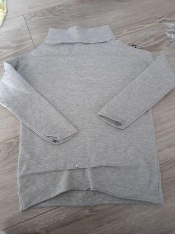 Szara bluza dziewczynka by mimi Mała Mi 116