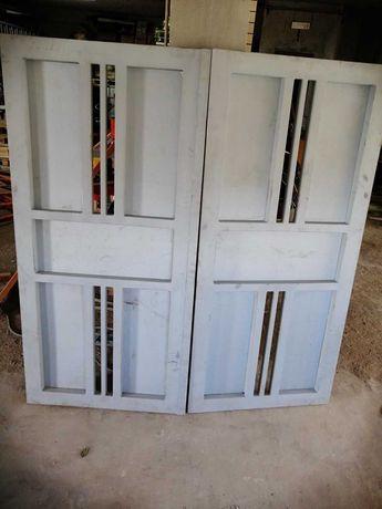 Portão 2 Folhas Metalizado