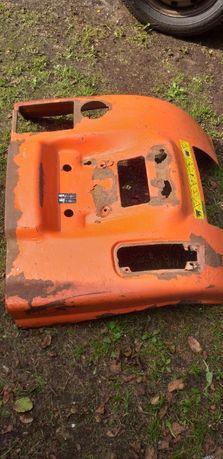 Metalowy błotnik do traktorka kosiarki Husqvarna,tylny wyrzut