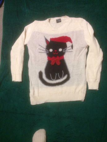 sweter swiateczny L