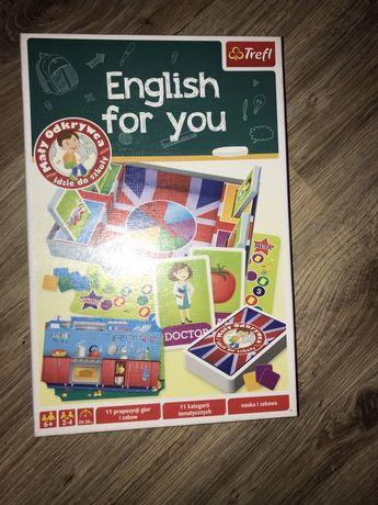 Gra english for you z firmy trefl