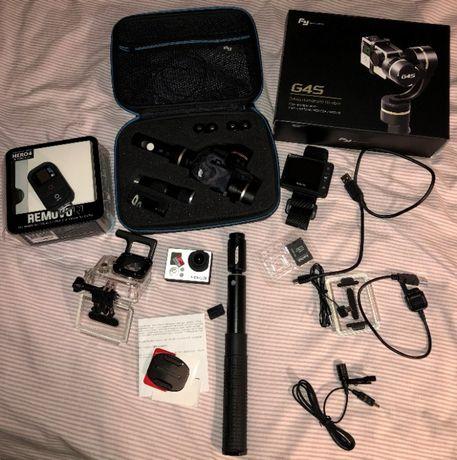 sprzedam GoPro 3 Hero Black Edition + Gimbal G4S + REMOVU + osprzęt