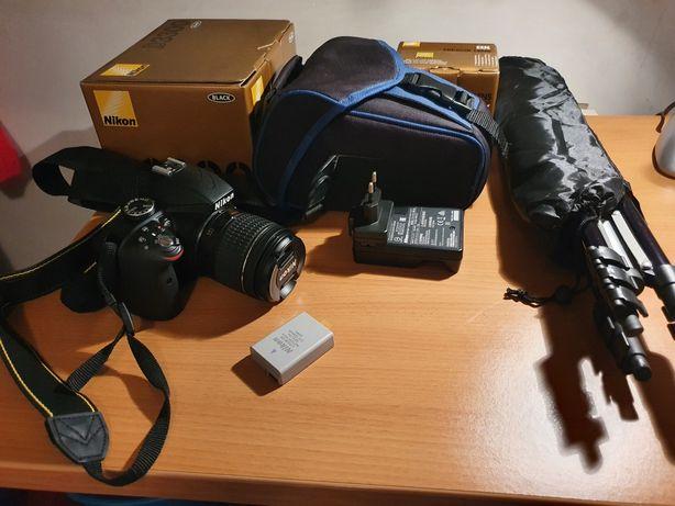 Nikon d3300 + lente 18-55mm + kit (c/garantia nikon) - ler descrição