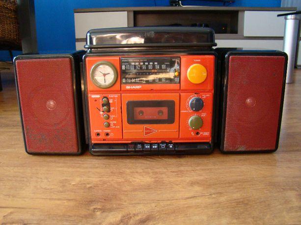 SHARP Radio Odtwarzacz Vinyl z lat 70 tych Vintage Zabytek