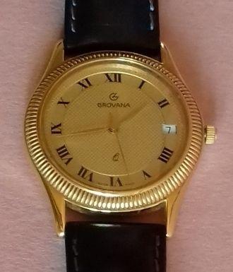 Relógio Grovana (Swiss Made)