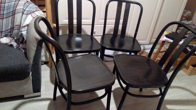4krzesła drewniane ikea