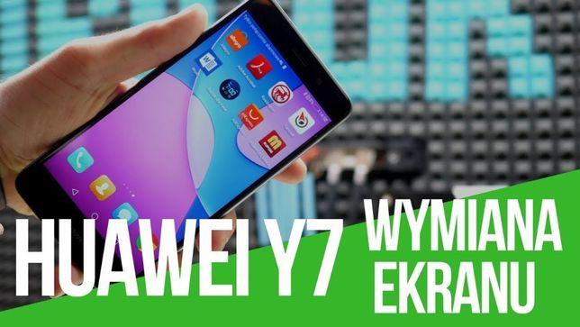 Huawei P8 P9 Y6 Y7 wyświetlacz LCD szybka wymiana w cenie SERWIS GSM