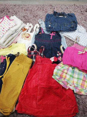 Lote roupa menina 6 meses, em ótimo estado