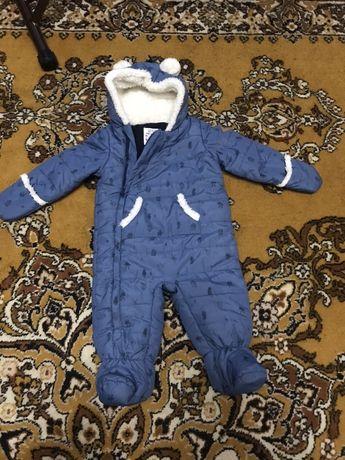 Детский, зимний комбинезон, на 80 см