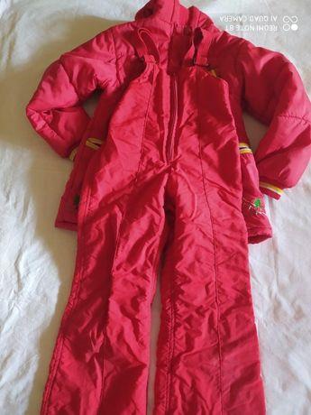 Комбинезон зимний на девочку Куртка зимние штаны