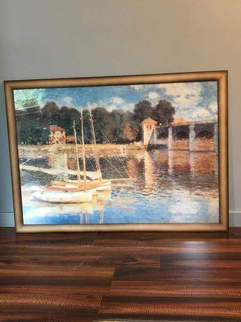 Claude Monet reprodukcja obraz pejzaż 100x70