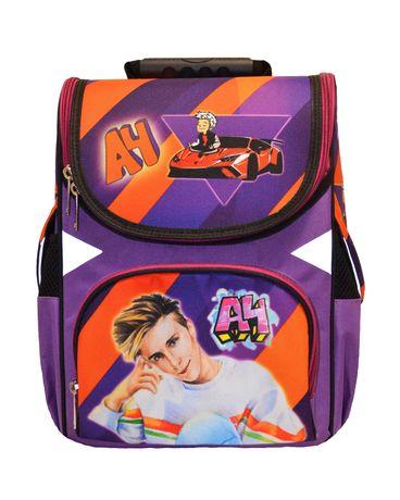 Ранец школьный каркасный Влад бумага А4 мерч рюкзак ортопедический