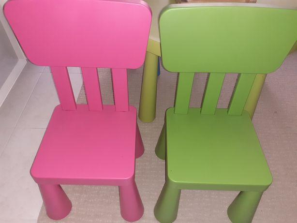 Cadeira MAMMUT Ikea