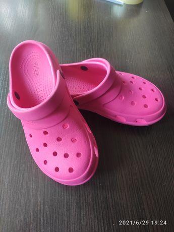 Кроксы Crocs by jibbitz m5w7 оригинал