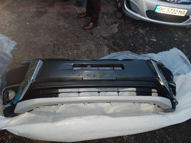 Бампер Mitsubishi Outlander 3 решетка капот фары усилитель панель