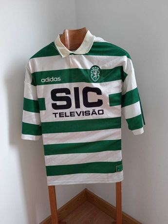 Camisola Oficial Sporting CP 1995/1996 Adidas