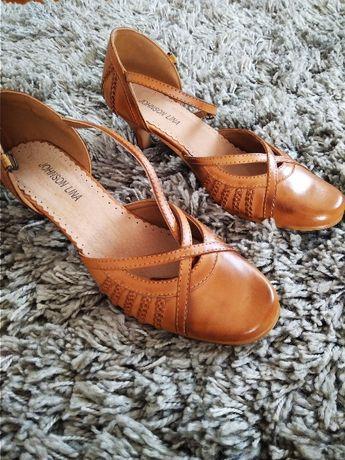 Buty na obcasie pantofle Johnson Lina 40