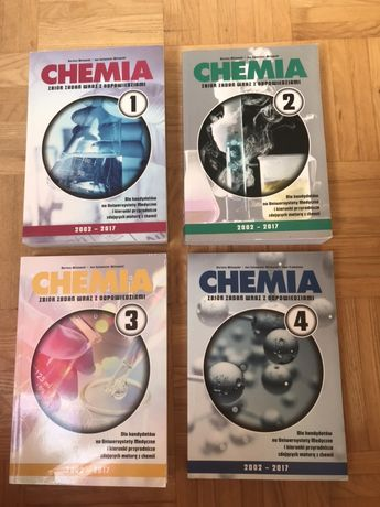 WITOWSKI chemia zestaw 1-4 2017