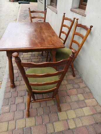 Stół salon kuchnia na 4 - 6 osób, plus 4 krzesła