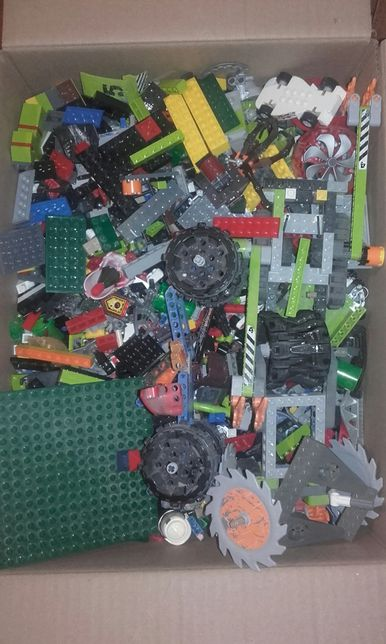 Klocki lego technic i inne