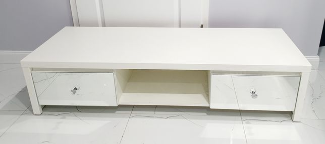 Sprzedam!Szafkę, stolik pod TV lustrzane szuflady. Krysztalowe uchwyty
