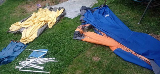 Namiot 3 osobowy z przedsionkiem. Tropik + sypialnia. solidny
