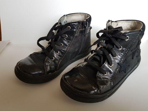 Buty rozm.29 buciki dla dziewczynki RenBut skórzane na wiosnę i jesień