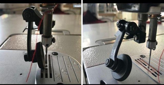 Прижимная роликовая лапка для швейной машинки