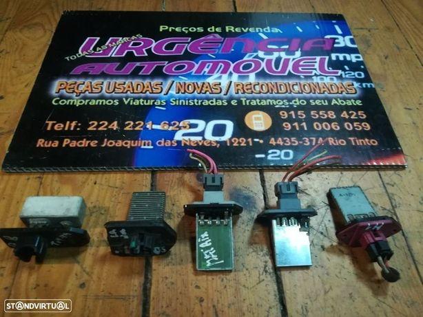 Citroen ZX  Saxo  C3  Xsara  Picasso - Resistência sofagem  chaufagem Ventilador