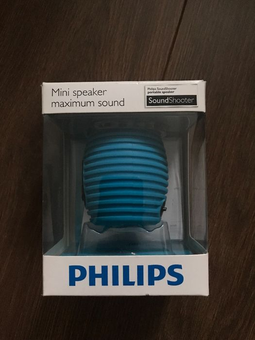 Bezprzewodowy, niebieski głośnik Philips Bluetooth Jelenia Góra - image 1