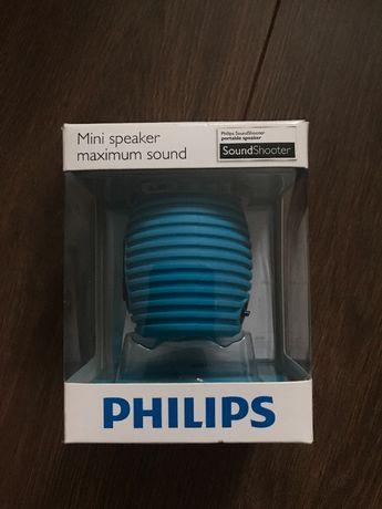 Bezprzewodowy, niebieski głośnik Philips Bluetooth
