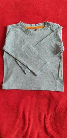 Szara bluzeczka r. 74