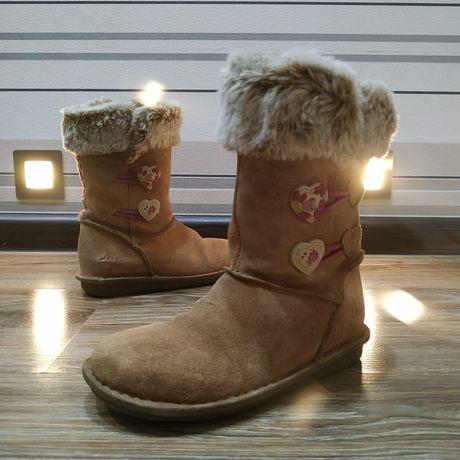 Сапожки зимние ботинки Clarks Snuggle Folk Infant Girls, осень-зима