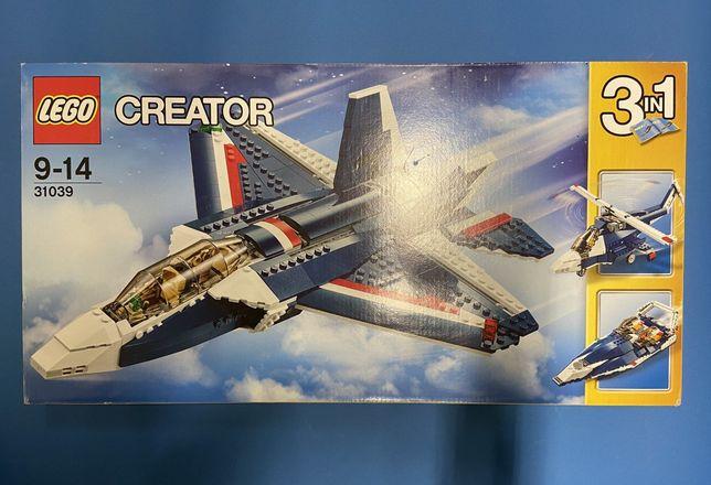 Набор LEGO Creator Синий реактивный самолёт 31039 (2016, новый)