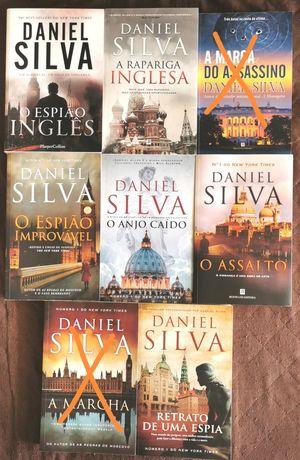 Daniel Silva & Ken Follett- Best Sellers (v. 3 fotos).