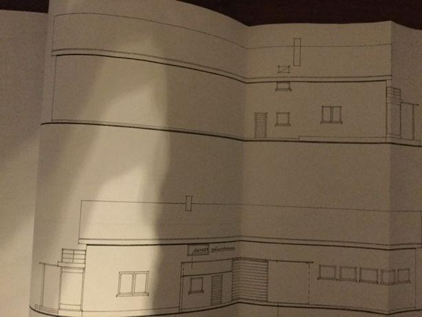 Projekt budowlany Hala + Dom