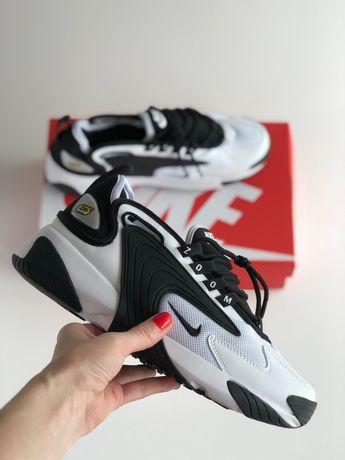 Nike Zoom 2k White&black