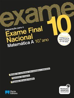 Preparar o Exame de Matemática A - 10.ºano