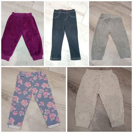 Spodnie 74/80 dla dziewczynki
