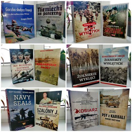 II Wojna światowa książki wyprzedaż biblioteczki (wysyłka gratis)