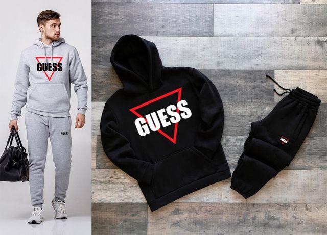 Тёплый спортивный костюм Guess, Balenciaga, CK, Boss, Levis худи штаны