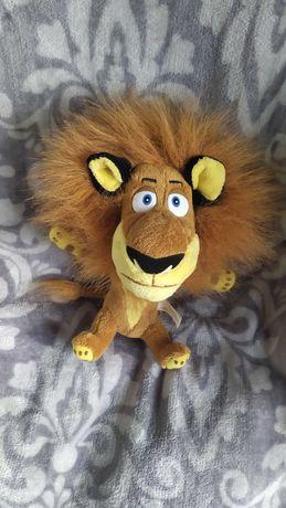 лев Алекс из мультфильма Мадагаскар 23см.